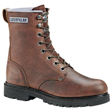 Men's Caterpillar® Remington Steel Toe Work Boot, Earth