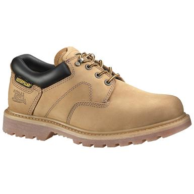 Men's CAT® Ridgemont Steel Toe Work Shoe, Honey