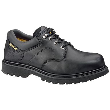 Men's CAT® Ridgemont Steel Toe Work Shoe, Black