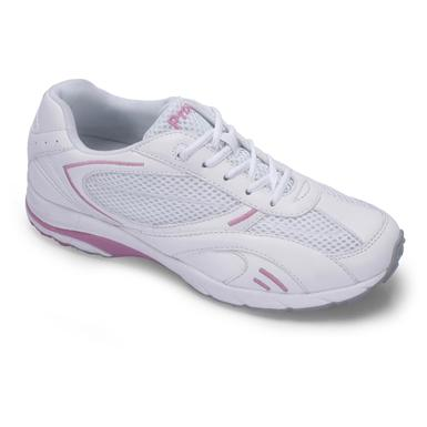 Women's Propet® Nadia™ Shoes, White / Hot Pink