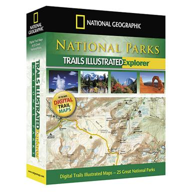 National Geographic™ National Parks Explorer 3-D Mapping Software
