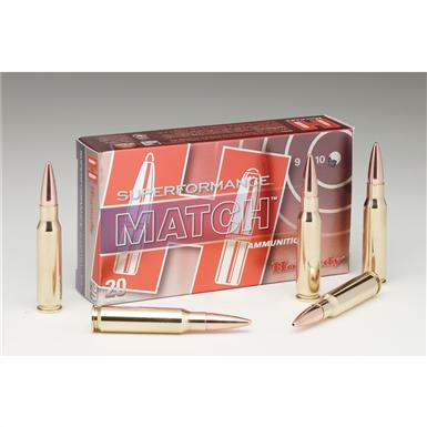 Hornady® Superformance Match Ammo