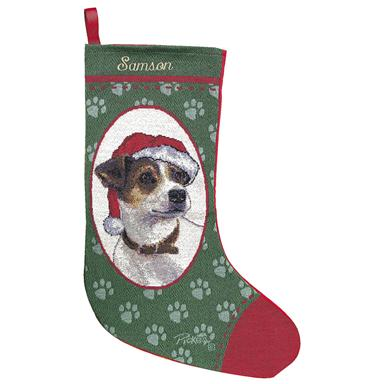 Personalized Jack Russell Stocking