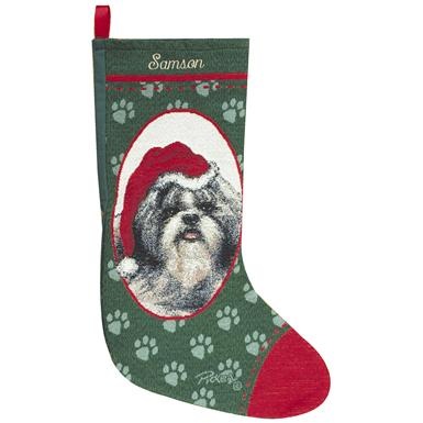 Personalized Shih Tzu Stocking