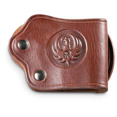 Classic Old West Styles® Ruger® Belt Slide Holster; Low profile carry from Ruger®
