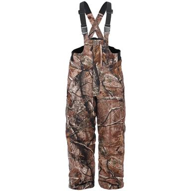 Youths' Lucky Bums® Waterproof Insulated Realtree® AP HD Bib Overalls