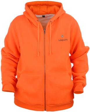 Youths' Lucky Bums® Blaze Orange Hooded Jacket