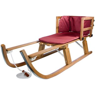 Lucky Bums® Heirloom Collection Wooden Pull Sled