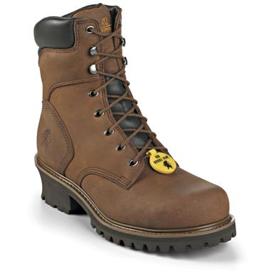 Men's Chippewa® Insulated Steel Toe Logger Work Boots