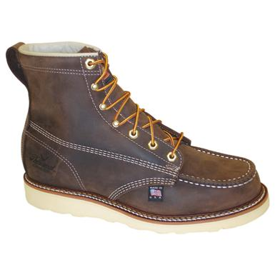 Men's Thorogood® 6 inch Moc Toe Wedge Work Boots