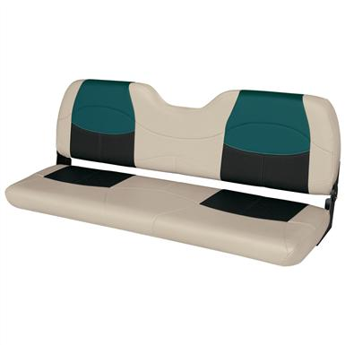 Wise® Blast-Off™ Series Bench Seat, Mushroom / Black / Green