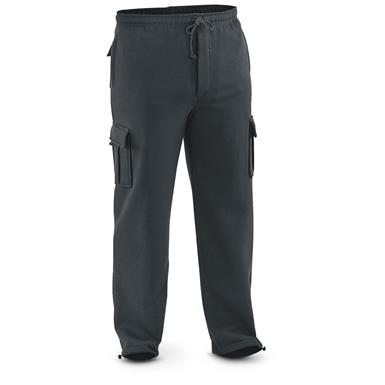 Guide Gear Men's Cargo Sweatpants, Black