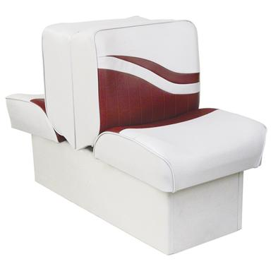 Wise® Weekender Lounge Seat, White / Red