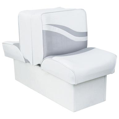 Wise® Weekender Lounge Seat, White / Gray