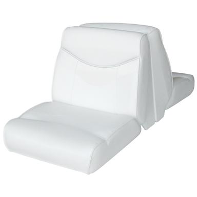 Wise® Bayliner Replacement Lounge Seat, No Base, White / White