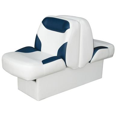Wise® Bayliner Replacement Lounge Seat, With Base, White / Navy