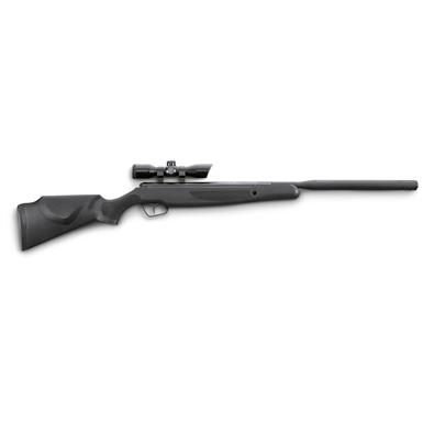 "Stoeger X20S Suppressor Spring Piston Air Rifle, .177/.22 Caliber, 16.5"" Barrel, 4x32mm Scope"