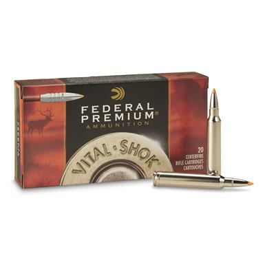 20 rounds Federal® Trophy Bonded® Tip 300 Win® Mag. 165 - grain Ammo
