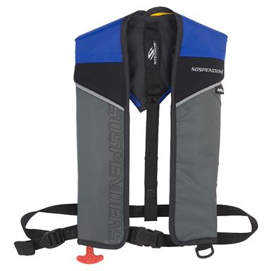 Stearns® Sospenders® Auto / Manual 24G Inflatable PFD, Blue / Red