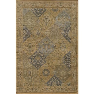 Momeni® Belmont Area Rug, 3'11 inch x5'7 inch / BE-01, Blue