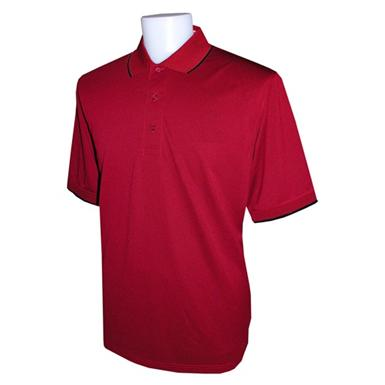 The Ultimate Tipped Pique Polo Shirt from Jockey®, Bright Red