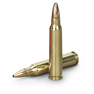 50-gr. jacketed hollow point bullet