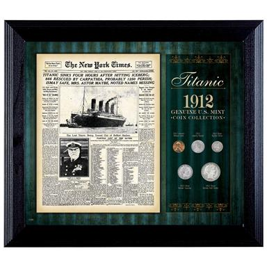 New York Times Titanic 1912 U.S. Mint Coin Collection
