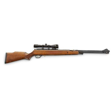 Winchester® 1100 XSU Air Rifle • Cut checkering on stock • Integrated scope mount accepts 11 mm or Weaver® style