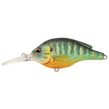Live Target® Pumpkinseed Flat-sided Crankbait, Natural / Matte