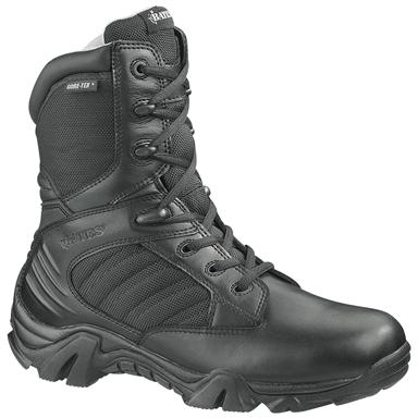 Men's Bates® GX-8 GORE-TEX® 200 gram Thinsulate™ Insulated Side-zip Combat Boots, Black