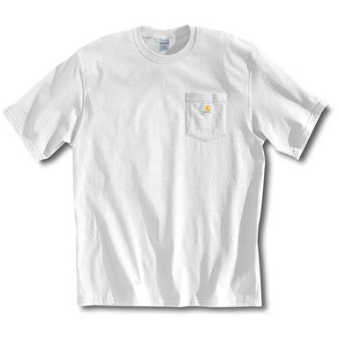 Men's Carhartt® Workwear Short-sleeve Pocket T-shirt, White