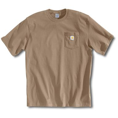 Men's Carhartt® Workwear Short-sleeve Pocket T-shirt, Desert