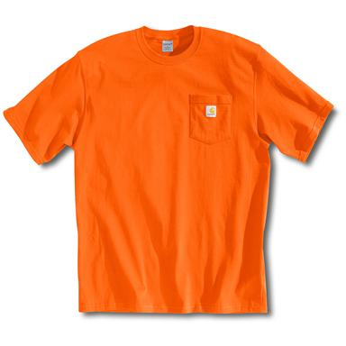 Men's Carhartt® Workwear Short-sleeve Pocket T-shirt, Orange