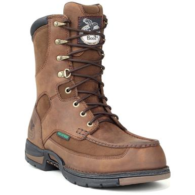 Men's Georgia® Athens Waterproof Work Boots, Brown