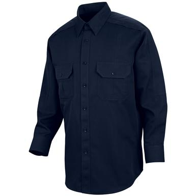 Men's Horace Small® Special Ops Woven Long-sleeved Shirt, Dark Navy
