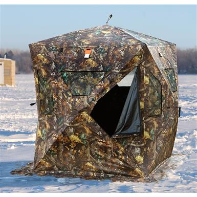 Crossover Hunt-N-Fish Combo Ice Shelter / Blind