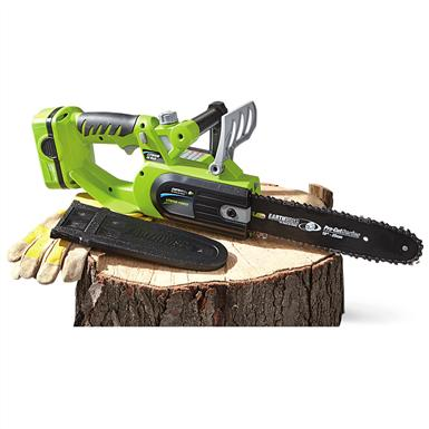 "EarthwiseEarthwise™ Cordless 10"" Chainsaw with Lithium Battery"