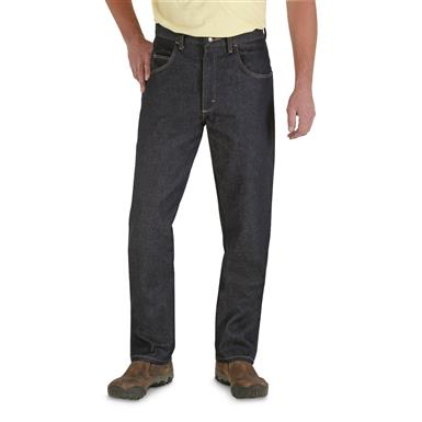 Men's Wrangler® Rugged Wear Straight Fit Jeans, Denim