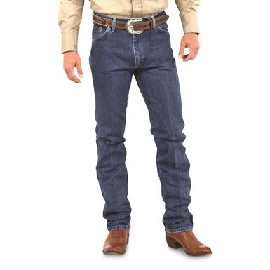 Wrangler® George Straight Cowboy Cut® Slim Fit Jeans, Denim Stone