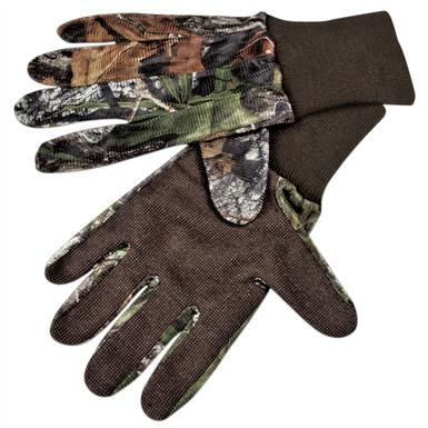 Mossy Oak® Mesh Gloves with Grip Palm, Mossy Oak Obsession