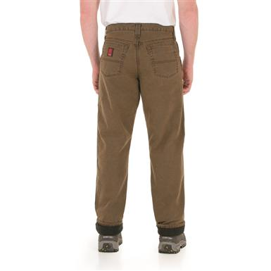 Riggs Workwear Men's Thinsulate Lined Relaxed-Fit Jeans, Night Brown