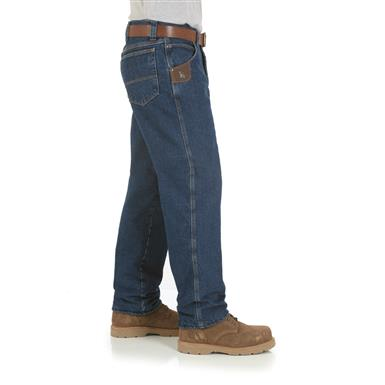 Riggs Workwear Men's Thinsulate Lined Relaxed-Fit Jeans, Antique Indigo