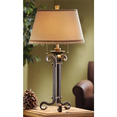 Rustic Ranch Table Lamp