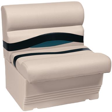 Wise® Premier 1100 Series 27 inch Pontoon Bench Seat, Color A