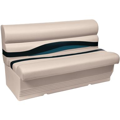 Wise® Premier 1100 Series 50 inch Pontoon Bench Seat, Color A