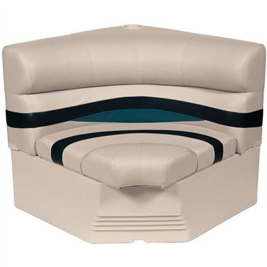 Wise® Premier 1100 Series 32 inch Pontoon Radius Corner Seat, Color A