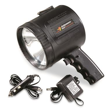 Performance Tool Rechargeable Spotlight, 1-million Candlepower