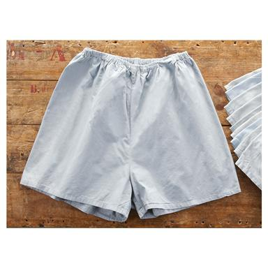 10 Prs. of New Swedish Military Boxer Shorts