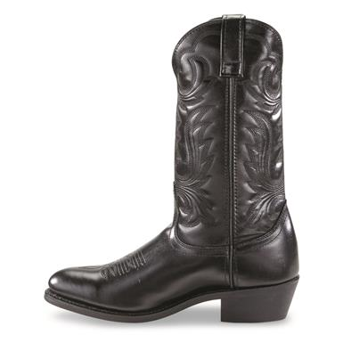 "Guide Gear Men's 12"" Cowboy Boots, Black"