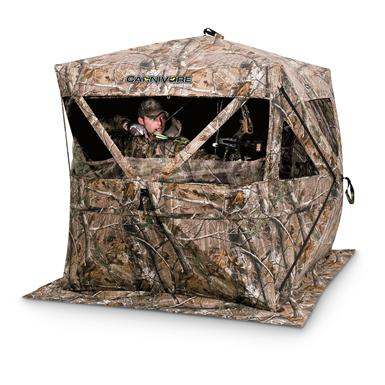 Ameristep® Carnivore™ Hub-style Ground Blind, Realtree® AP™